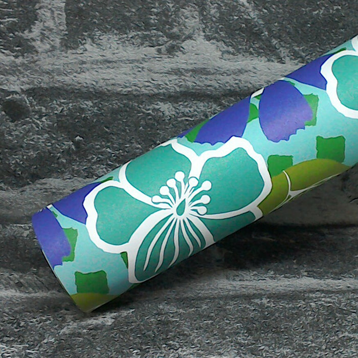 Tropical Recycled Wrapping Paper With Vegetable Ink | Adam & Eco