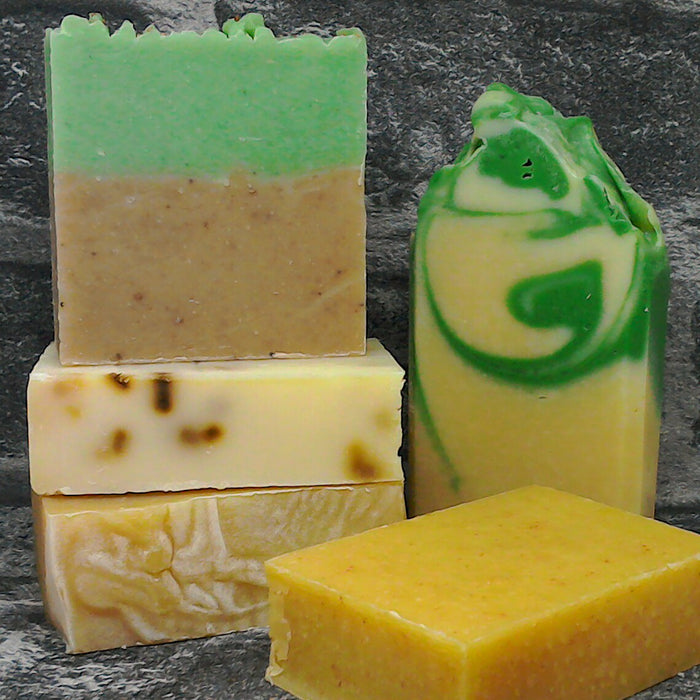 Example Of Natural Soap Bar Selection Umboxed | Adam & Eco