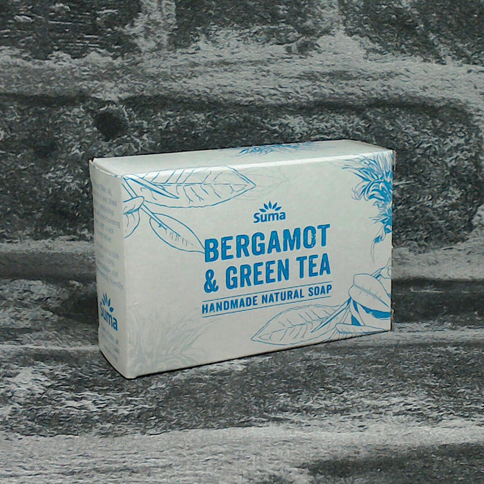Suma Bergamot & Green Tea Soap Bar | Adam & Eco
