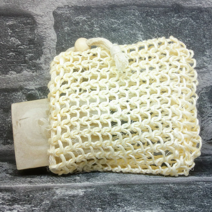 Natural Sisal Soap Bag