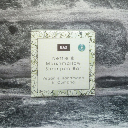 Nettle & Marshmallow Natural Handmade Shampoo Bar For Dry Itchy & Sensitive Hair Types