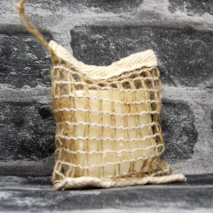 Open Weave Jute Soap Bag For Drying Soap Bars