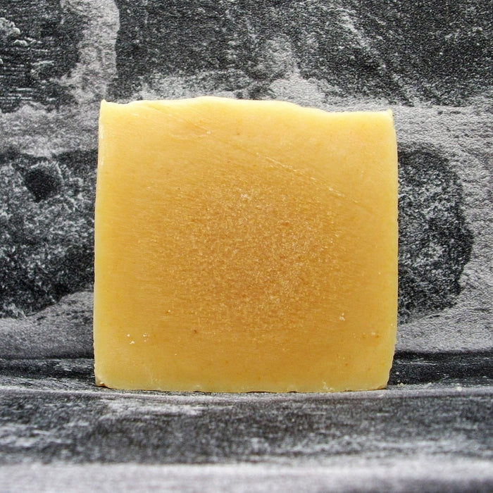 Lemongrass Goats Milk Soap Bar Naked By The Spinney Goat Company