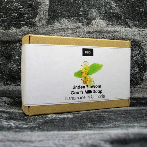 Linden Blossom Goats Milk Soap Bar By Bain & Savon