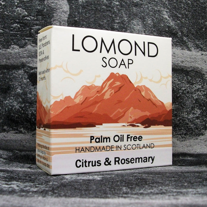 Lomond Soap Citrus & Rosemary Soap Bar
