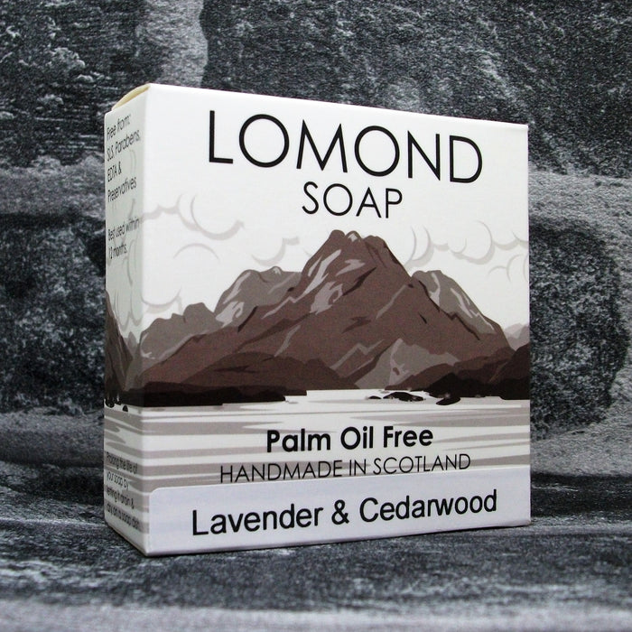 Lomond Soap Lavender & Cedarwood Soap Bar