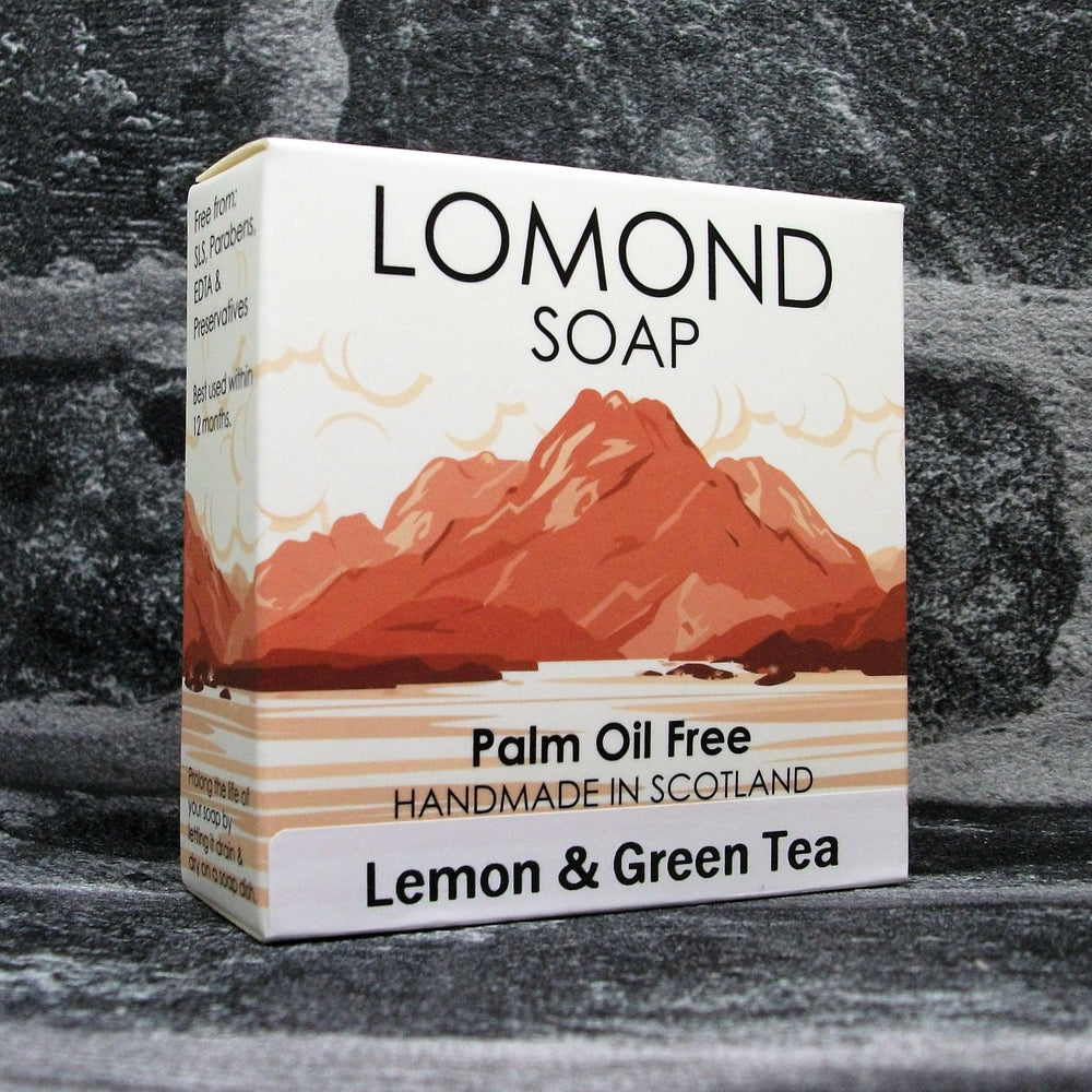 Lomond Soap Lemon & Green Tea Soap Bar