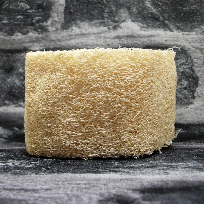 Natural Loofah Sponge 5cm Side - Adam & Eco