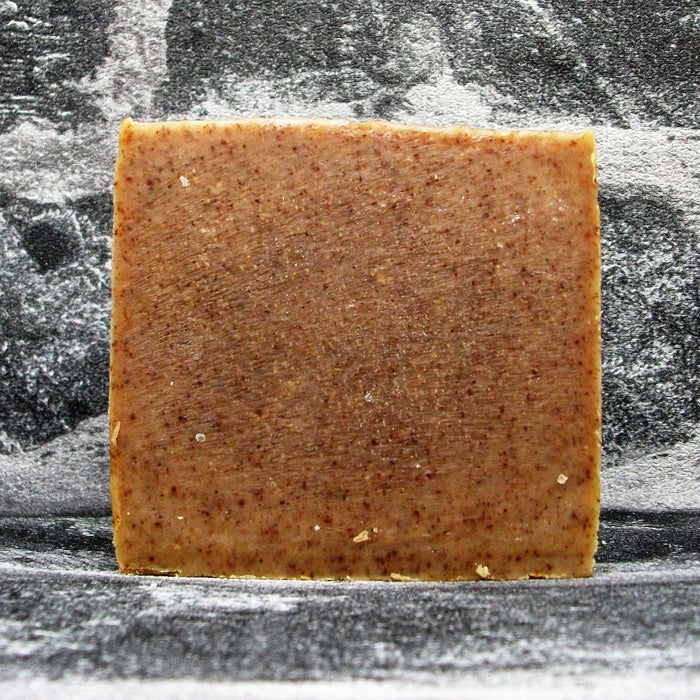Orange & Cinnamon Goats Milk Soap Bar Naked By The Spinney Goat Company