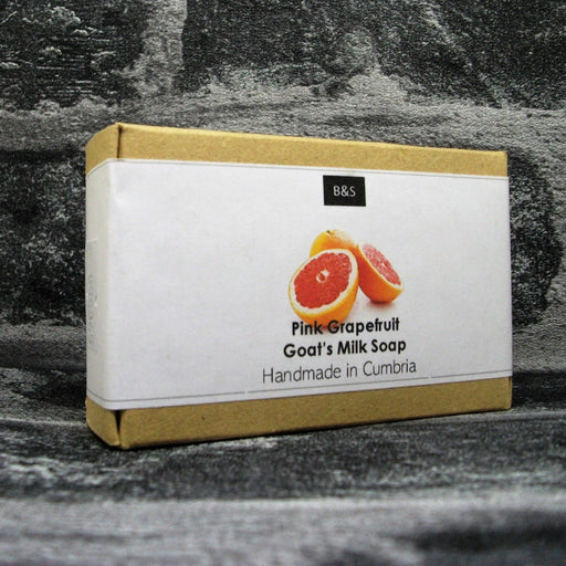 Pink Grapefruit Goats Milk Soap Bar By Bain & Savon