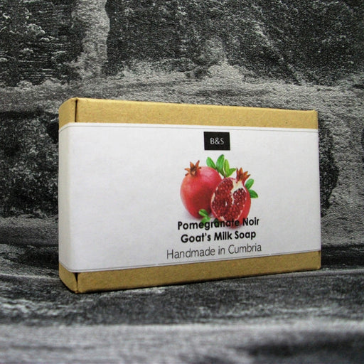 Pomegranate Noir Goats Milk Soap Bar By Bain & Savon