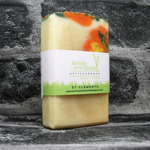St Clements Tropical Soap Bar By Barmby On The Marsh Artisan Soaps | Adam & Eco