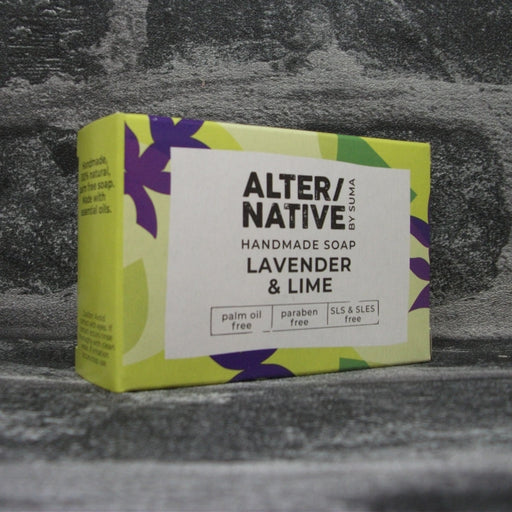 Suma Lavender & Lime Soap Bar | Adam & Eco