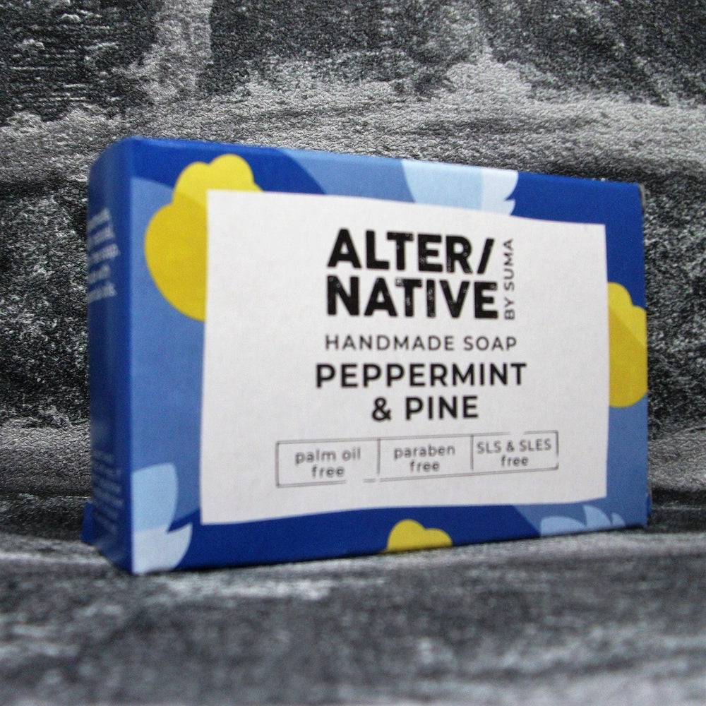 Suma Peppermint & Pine Soap Bar