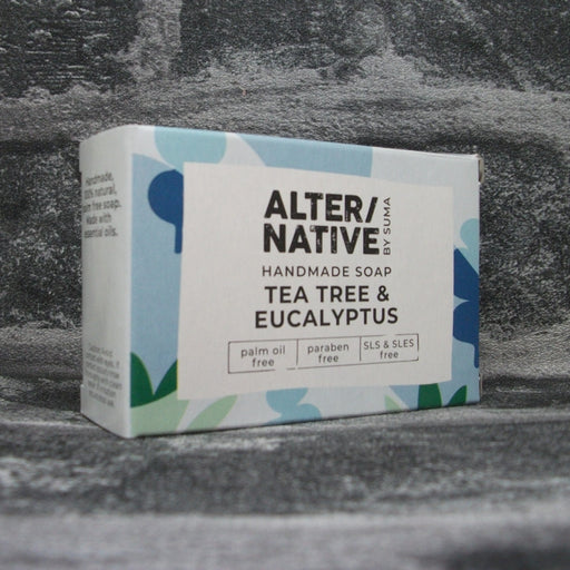 Suma Tea Tree & Eucalyptus Soap Bar
