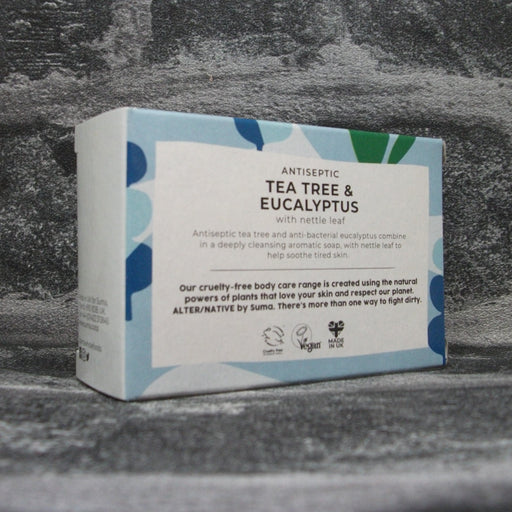 Suma Tea Tree & Eucalyptus Soap Bar Reverse