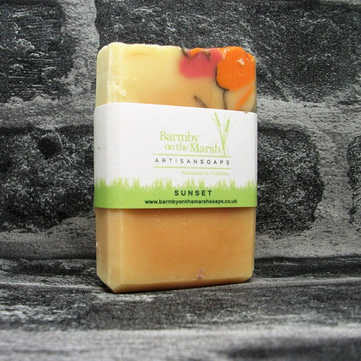 Sunset Soap Bar By Barmby On The Marsh Artisan Soaps | Adam & Eco