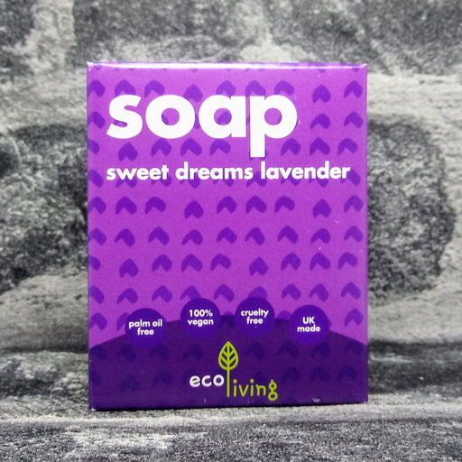 Sweet Dreams Lavender Natural Handmade Soap Bar By Eco Living