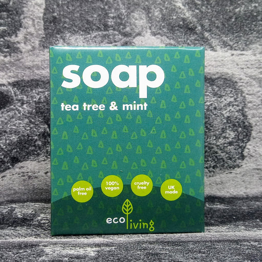 Tea Tree & Mint Natural Handmade Soap Bar By Eco Living