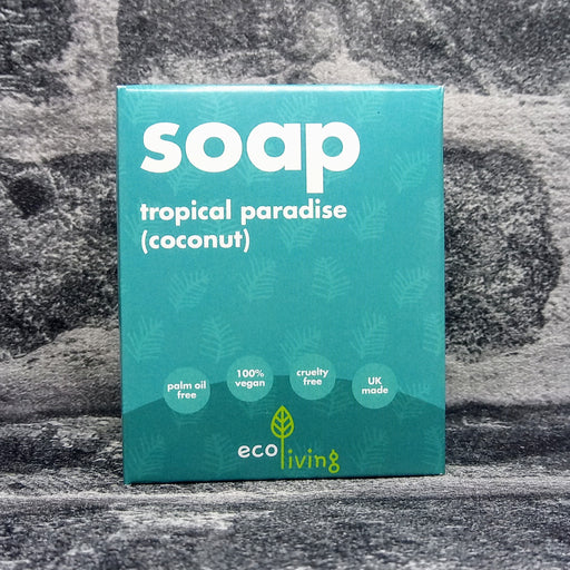 Tropical Paradise Coconut Natural Handmade Soap Bar By Eco Living