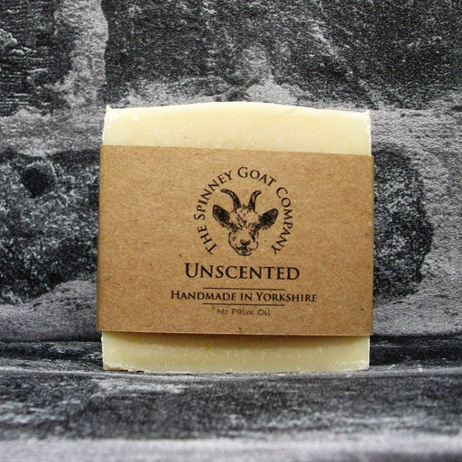 Unscented Fragrance Free Goats Milk Soap Bar By The Spinney Goat Company