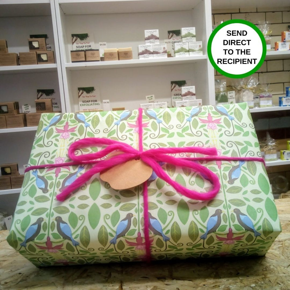 Wrapped Top To Toe Bath Soap Gift Set