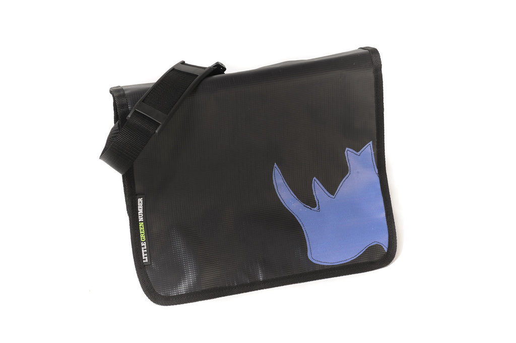 Fancy Laptop Bag with Rhino Applique