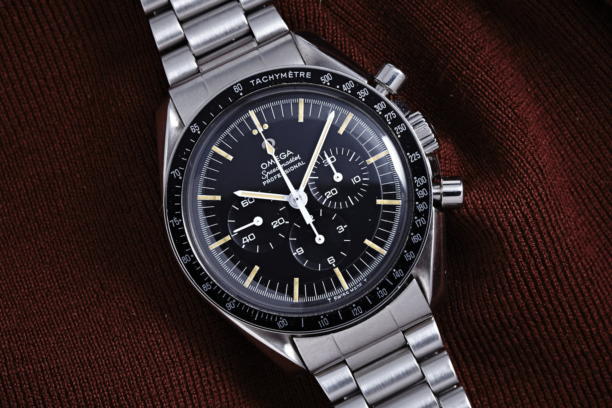 Omega Speedmaster Professional Transitional Dial -1968