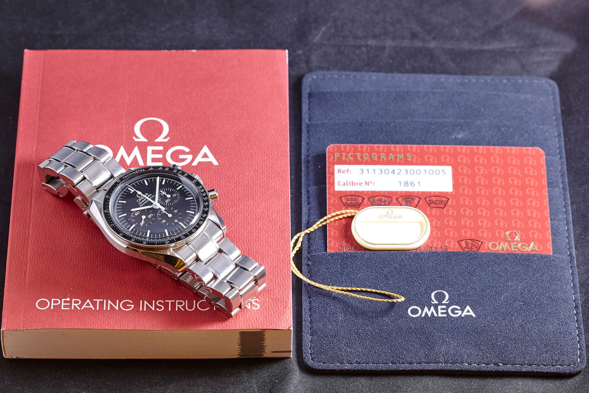 Omega Speedmaster Professional w/ Papers