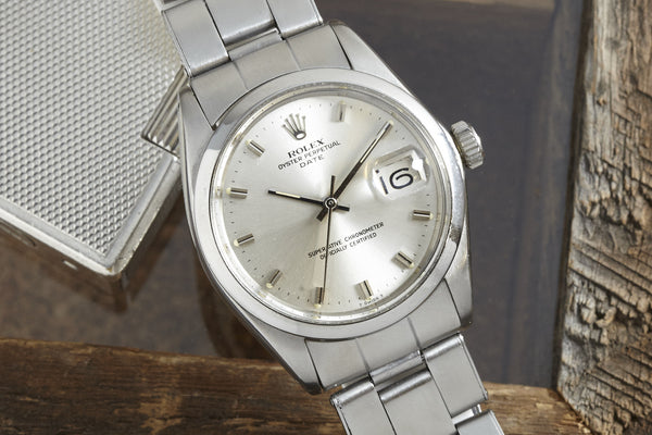 Analog Shift Rolex Oyster Perpetual Date