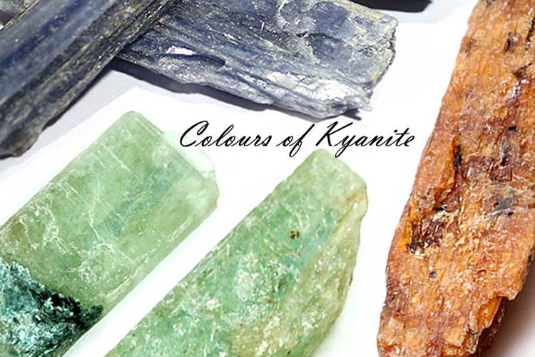 The Colours of Kyanite