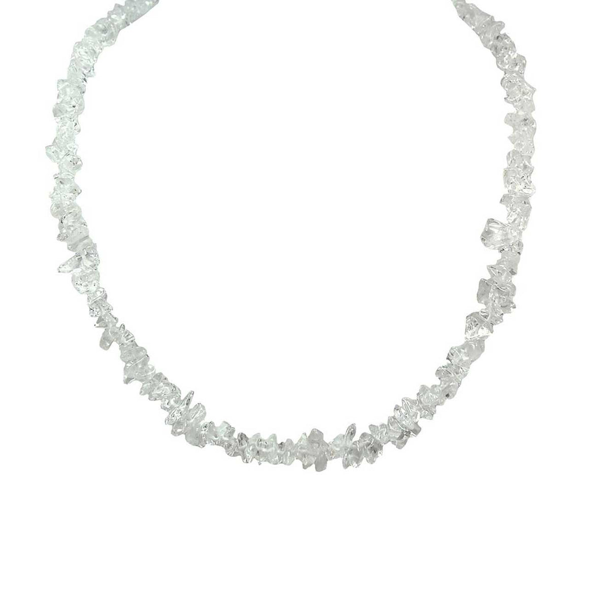 Crystal Quartz Chip Necklace