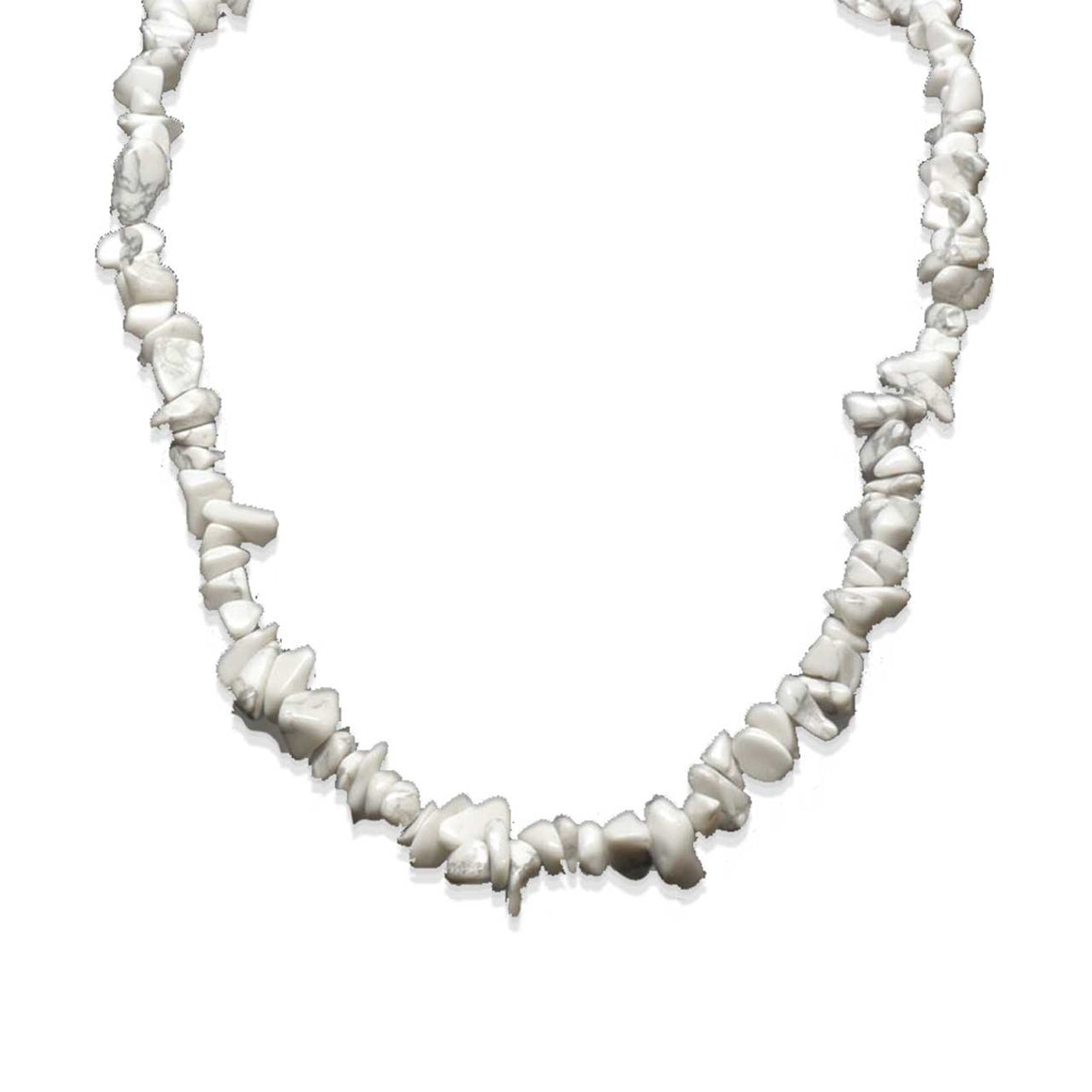 Howlite Chip Necklace