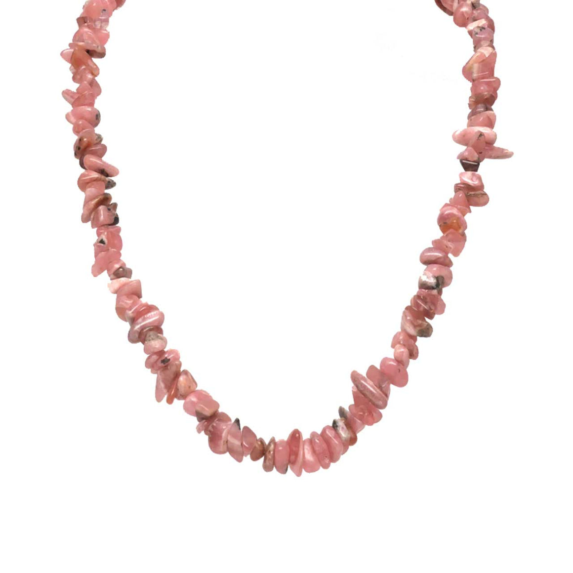 Rhodochrosite Chip Necklace