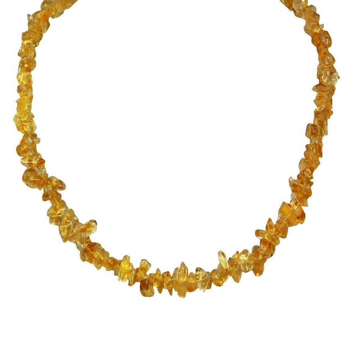 Hessonite Chip Necklace
