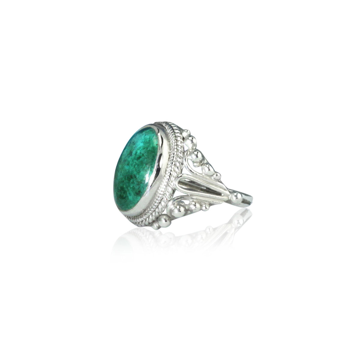 Chrysacolla Ring