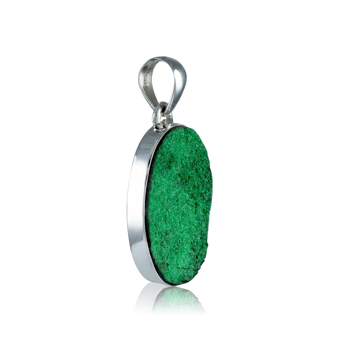 Uvarovite Garnet Pendant - One of a Kind
