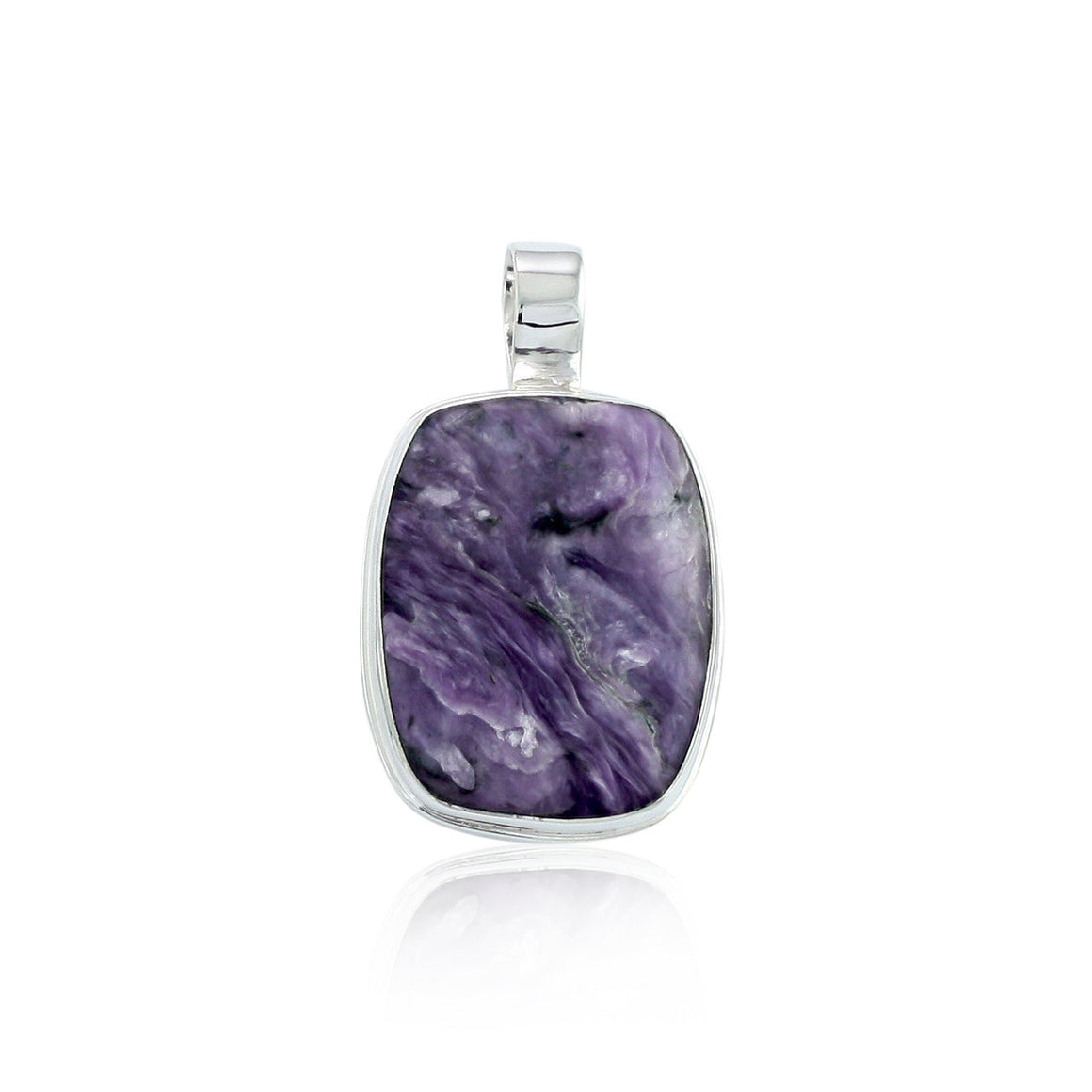 Charoite Pendant - One of a Kind