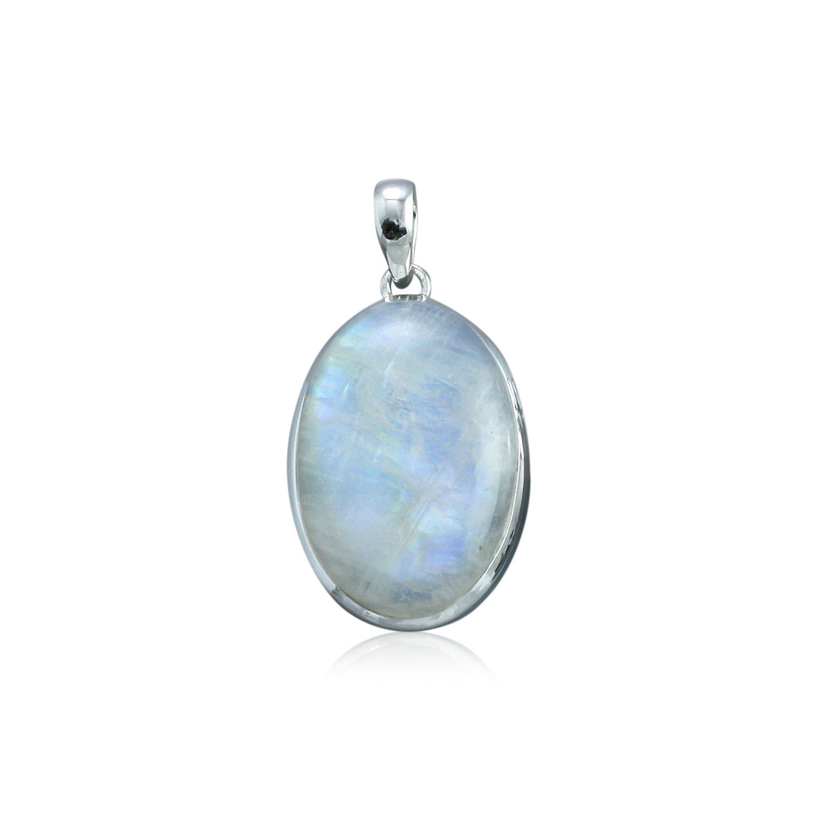 Rainbow Moonstone Pendant - One of a Kind