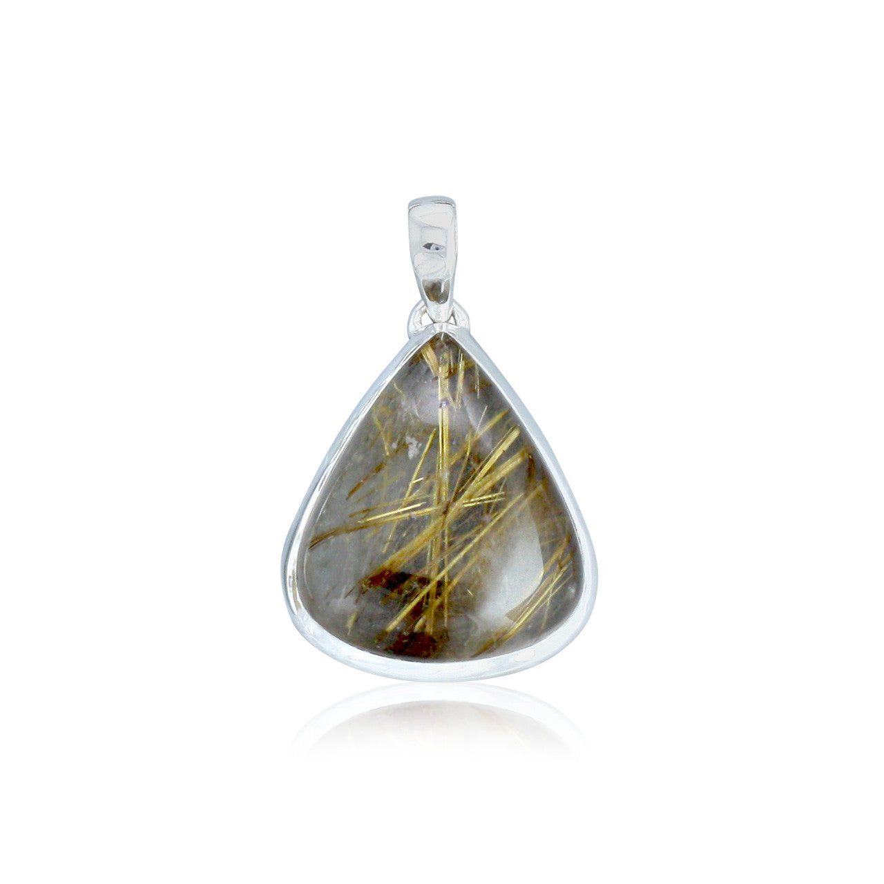 Golden rutilated quartz pendant one of a kind himalayan gems golden rutilated quartz pendant one of a kind mozeypictures Images
