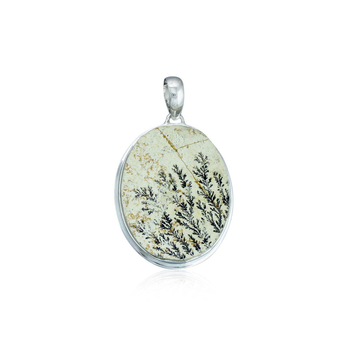 Landscape Dendrite Pendant - One of a Kind