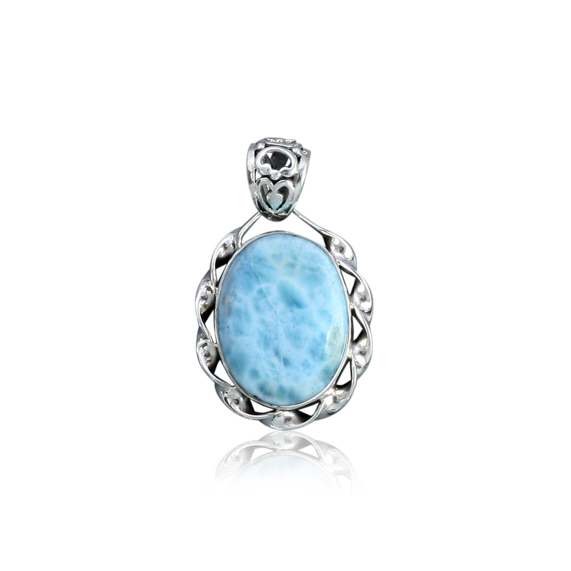 Larimar Pendant - One of a Kind