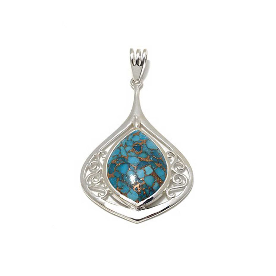 Mohave Turquoise Pendant