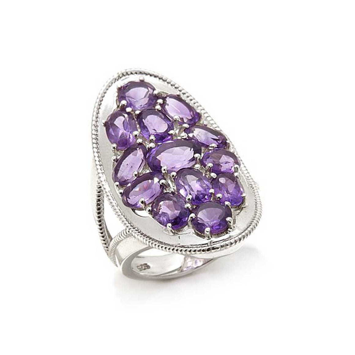 Amethyst Multi Stone Ring