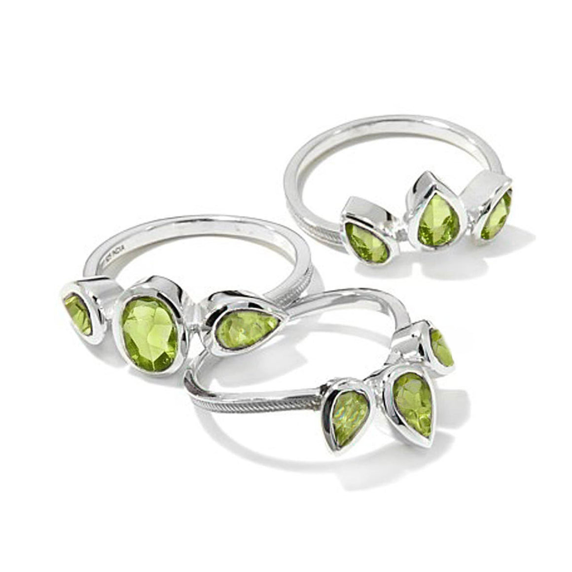 Peridot Stackable Ring