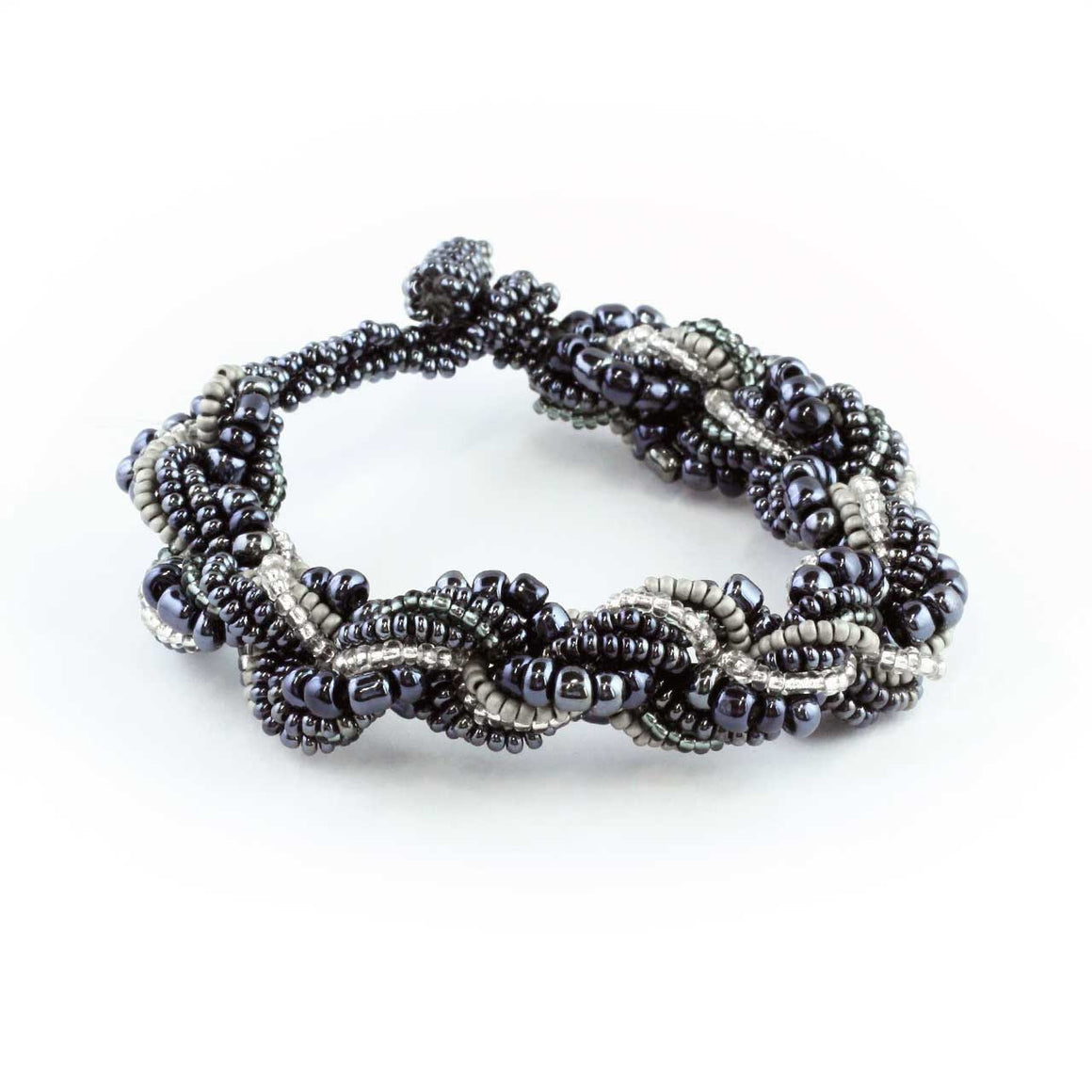 Beaded Potay Multi Strand Twist Bracelet
