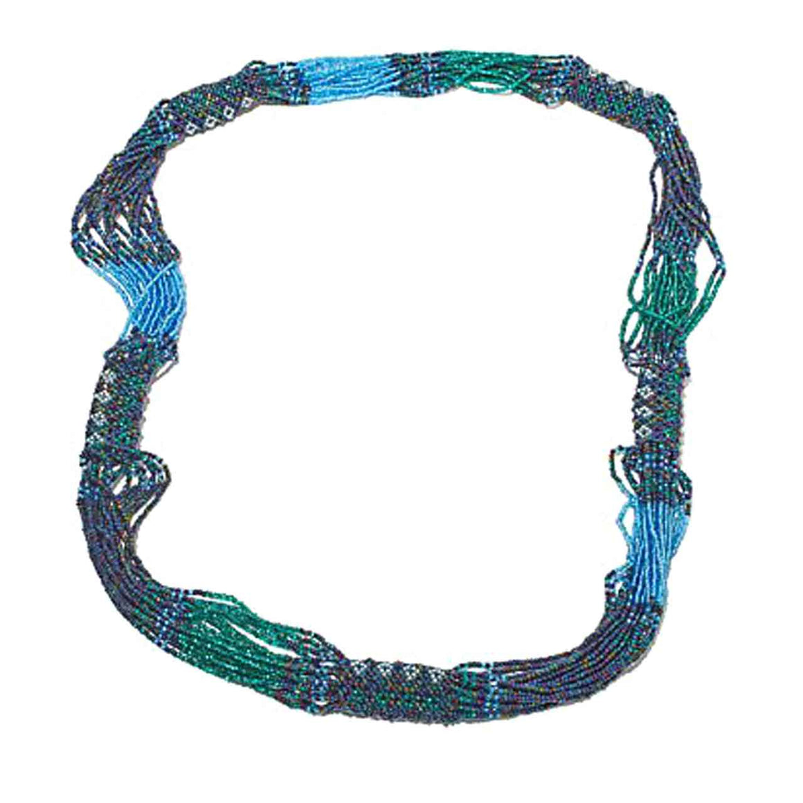 Multi Colour, Multi Strand Necklace
