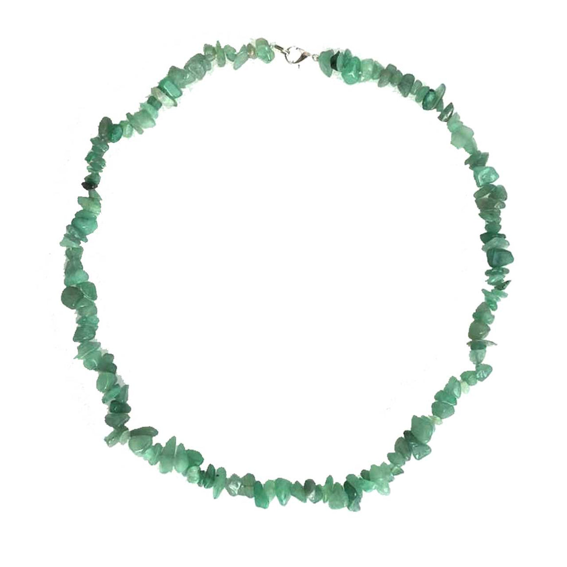 Green Aventurine Chip Necklace