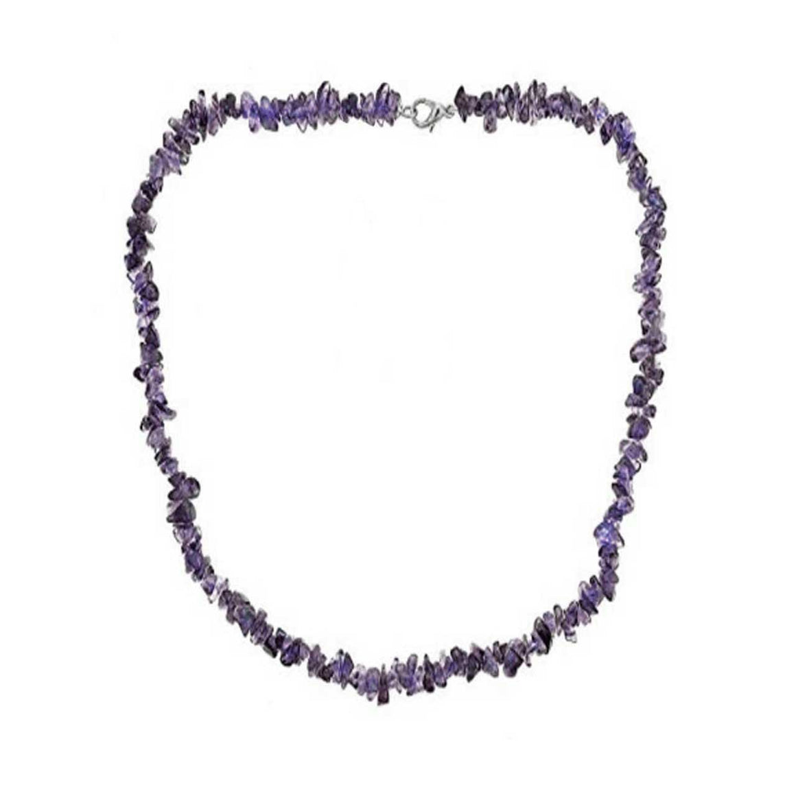 Iolite Chip Necklace
