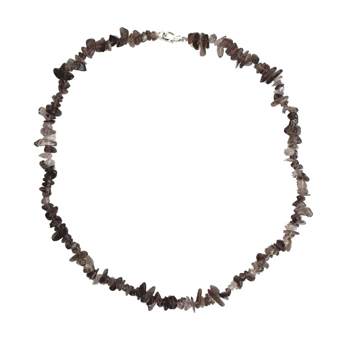 Smokey Quartz Chip Necklace